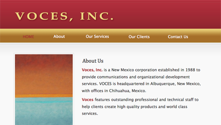 Voces, Inc.
